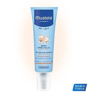 Mustela Spray Apres Soleil Γαλάκτωμα για μετά τον Ήλιο, 125 ml