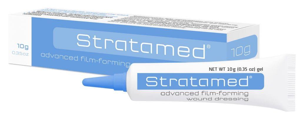 Stratamed Advanced Film-Forming Wound Dressing Γέλη Σιλικόνης για την Πρόληψη & την Θεραπεία των Ουλών, 10gr