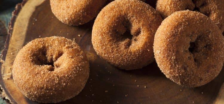 Ντόνατς με μπισκοτόκρεμα Hipp και ζάχαρη
