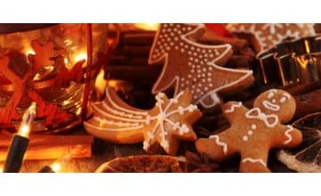Μπισκότα Gingerbread - Χριστουγεννιάτικη Συνταγή