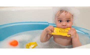 Τα καλύτερα αφρόλουτρα για το δέρμα του μωρού σου