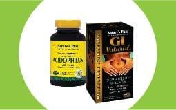 Προβιοτικά - Ένζυμα - Πεπτικά Βοηθήματα NATURE'S PLUS