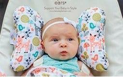 Μαξιλαράκια Στήριξης Κεφαλιού Baby Elephant Ears