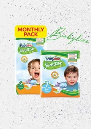 Find online Babylino baby diapers with 40 off!