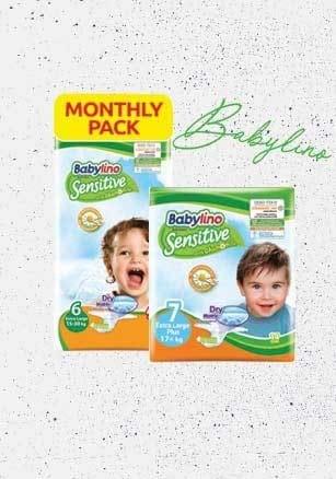 Βρείτε online τις βρεφικές πάνες Babylino με -40%!