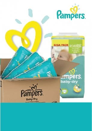 "Image of ""Monthly Diapers from 0.16€/diaper"""