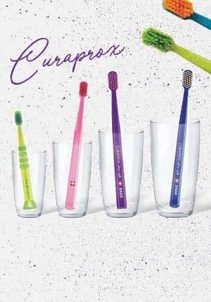 Δοκιμάστε & ανακαλύψτε τις εργονομικές οδοντόβουρτσες Curaprox! Με -30%!