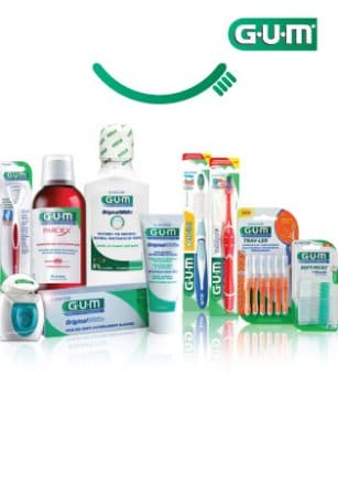 Gum, Innovative and high quality products for oral care! Find them 1+1 FREE!