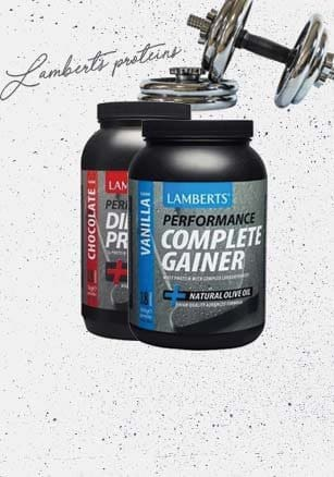 Find sport food supplements Lamberts with -32 off!