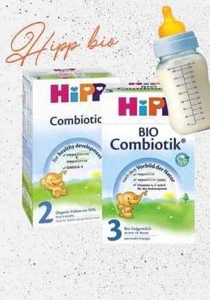 Βιολογικά βρεφικά γάλατα υψηλής ποιότητας Hipp! -15% !