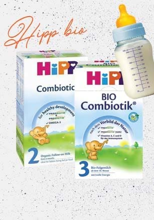 Hipp, oganic baby milk with high quality! -15% !
