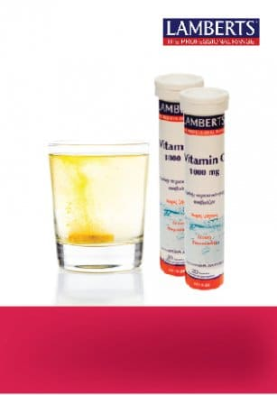 "Image of ""Lamberts Vitamin C 1000mg, with Orange Flavor - Boost your Immune System! 50% off! """