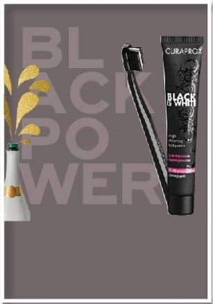 Curaprox, White is Black, φροντίδα στοματικής υγιεινής και σύστημα λεύκανσης!