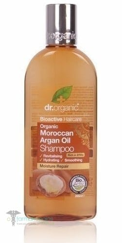 organic moroccan argan oil shampoo