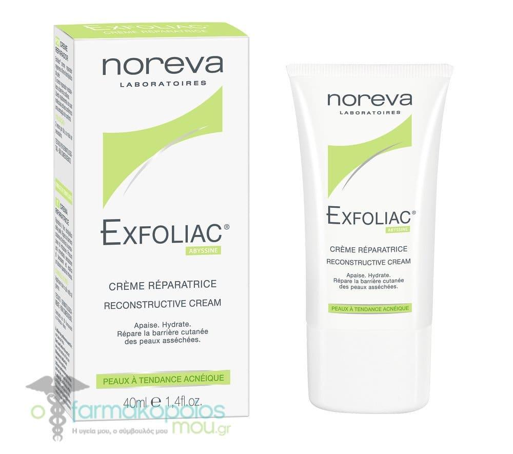 Noreva Exfoliac Reparatrice, Reconstructive Cream, 40 ml