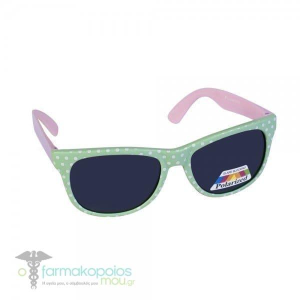 e83e3e6a57 Vitorgan Eyelead Polarized Κ1037 Παιδικά   Βρεφικά Γυαλιά Ηλίου Κοκάλινα  Τετράγωνα σε Χρώμα Πράσινο - Ροζ