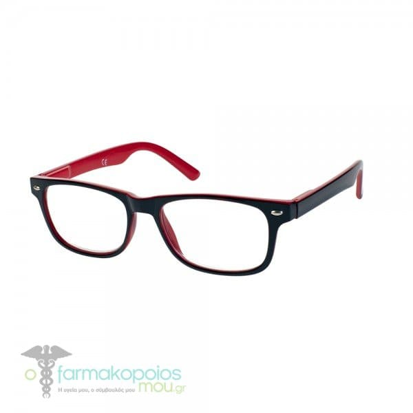 Vitorgan EyeLead Ε148 Unisex Γυαλιά Πρεσβυωπίας Κοκάλινο σε Μαύρο Κόκκινο  Χρώμα 4f5a359345f
