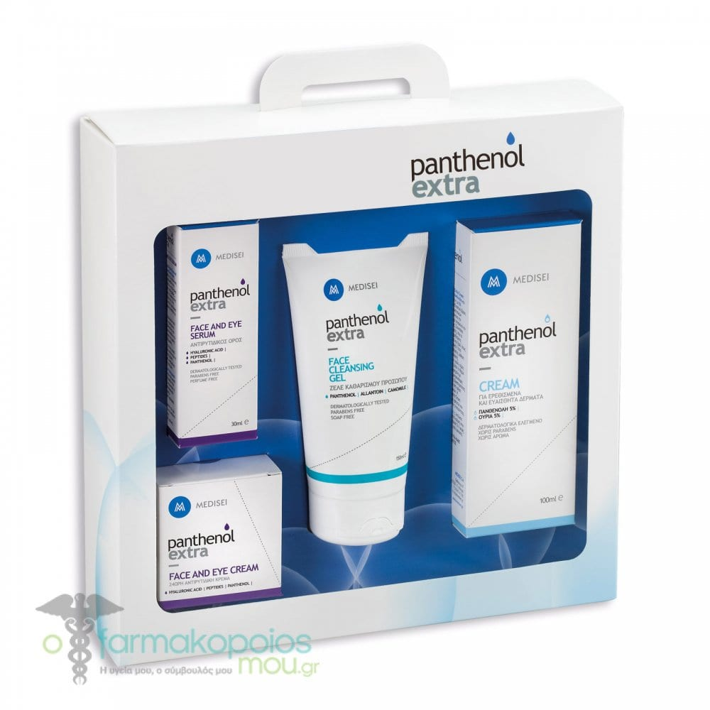 09af974a01d Panthenol Extra Promo Pack with Extra Face & Eye Cream 24hr, 50ml, Extra  Face & Eye Serum, 30ml, Extra Face Cleansing Gel, 150ml & Extra Cream, 100ml