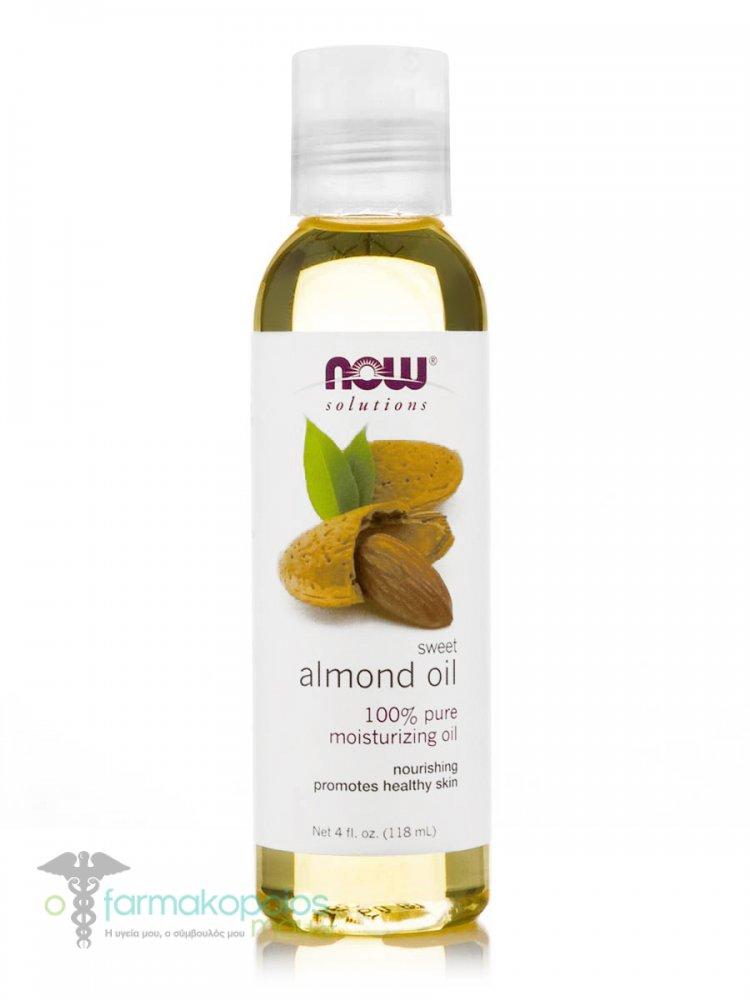 Now Sweet Almond Moisturizing Oil, 118 ml