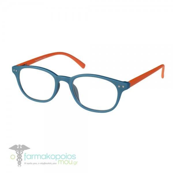 160de5c84b Vitorgan EyeLead Ε154 Unisex Γυαλιά Πρεσβυωπίας Κοκάλινα σε Πετρόλ  Πορτοκαλί Χρώμα