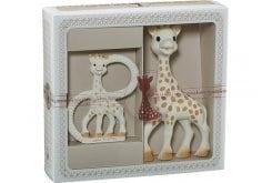 """Εικόνα του """"Sophie la Girafe Sophisticated Classical Creation Composition S0000011 Σετ Δώρου με τη Σόφι την καμηλοπάρδαλη, 1 τεμάχιο & δακτύλιο οδοντοφυϊας, 1 τεμάχιο"""""""
