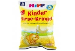 Hipp Children's Puffed Snack with Organic Μillet & Whole Grain Cereals, from the 8th Month, 30gr