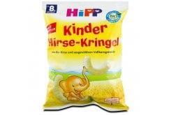 Hipp Παιδικά Γαριδάκια με Βιολογικό Κεχρί & Δημητριακά Ολικής Άλεσης, από τον 8ο Μήνα, 30gr