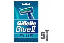 Gillette Blue II Plus Ανδρικά Ξυραφάκια μιας χρήσης, 5 τεμάχια