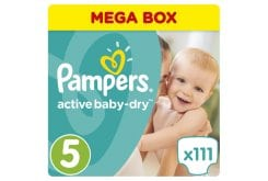 Pampers Premium Care Monthly Pack No.5 Junior (11-18kg) Βρεφικές Πάνες, 111 τεμάχια