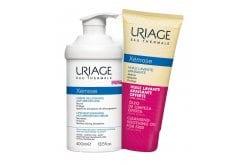 Uriage Xemose Promo Pack Lipid Replenishing Anti-Irritation Cream Ενυδατική Κρέμα που μειώνει την ξηρότητα, 400ml & ΔΩΡΟ Cleansing Soothing Oil Έλαιο Καθαρισμού, 200ml