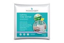 Pharmasept Bathing Soap Sponge Απαλά Σφουγγαράκια Μπάνιου μίας χρήσης εμποτισμένα με σαπούνι, 8 τεμάχια + 2 ΔΩΡΟ