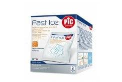 Pic Solution Fast Ice (13.5cm x 18cm) Στιγμιαίος Πάγος μιας χρήσεως σε σακούλες Tnt, 2 τεμάχια