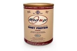 "Εικόνα του ""Solgar Whey to Go Protein Chocolate Powder ,1162gr """