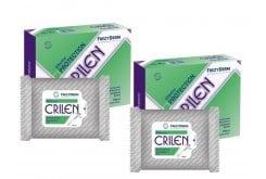 2 x Frezyderm Crilen Wipes Εντομοαπωθητικά Υγρά Μαντηλάκια, 2 x 20 wipes