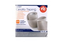 PIC Sport Taping Plaster for Functional Bandages, 2,5cm x 10m