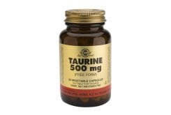 Solgar Taurine Ταυρίνη 500mg Θειούχο αμινοξύ,50caps