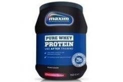 Maxim Pure Whey Protein με Γεύση Φράουλα, 750 gr