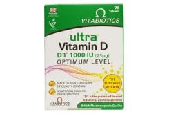 Vitabiotics Ultra Vitamin D, 96 ταμπλέτες