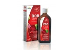Hubner Iron Vital F Συμπλήρωμα Διατροφής με Σίδηρο & Βιταμίνη C σε μορφή σιροπιού, με ήπια φρουτώδη γεύση, 250ml