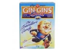 Gin Gins Boost 31gr, Παστίλιες από 100% φρέσκο Ginger (Πιπερόριζα)