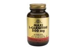 Solgar L-CARNITINE 500mg, 60 tabs