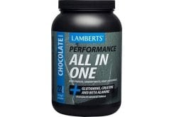 LAMBERTS Performance ALL-IN-ONE Whey Protein (Creatine & Beta Alanine) 1450gr - γεύση ΣΟΚΟΛΑΤΑ
