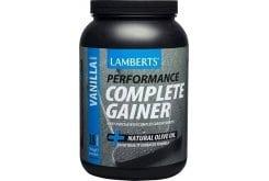 Lamberts Performance Complete Gainer Whey Protein Πρωτεΐνη Ενισχυμένη με Σύνθετους Υδατάνθρακες, Κρεατίνη, Βήτα Αλανίνη & HMB με Γεύση Βανίλια, 1816g