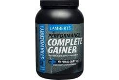 """Εικόνα του """"Lamberts Performance Complete Gainer Whey Protein Πρωτεΐνη Ενισχυμένη με Σύνθετους Υδατάνθρακες, Κρεατίνη, Βήτα Αλανίνη & HMB με Γεύση Φράουλα, 1816g """""""