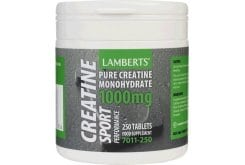 LAMBERTS Performance CREATINE 1000mg 250 tabs