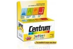 Centrum Junior Πολυβιταμινούχο Συμπλήρωμα Διατροφής για Παιδιά από 4+ ετών, με Γεύση Βατόμουρο - Λεμόνι, 30 chew. tabs