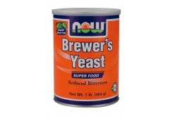 Now Brewers Yeast Powder Debittered, Μαγιά Μπύρας, 454 gr