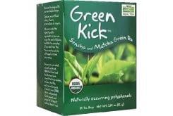 Now Green Kick Organic, Βιολογικό Τσάι με Πράσινο Τσάι, 24 φακελάκια