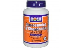 Now Glucosamine & Chondroitin 1500/1200 mg, w/ MSM, 90 caps
