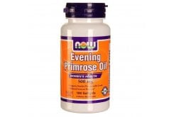 Now Evening Primrose Oil 500 mg, w/ GLA, 100 softgels